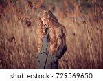 outdoor atmospheric lifestyle... | Shutterstock . vector #729569650