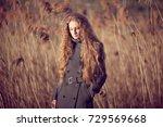 outdoor atmospheric lifestyle... | Shutterstock . vector #729569668