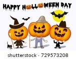 halloween funny | Shutterstock . vector #729573208