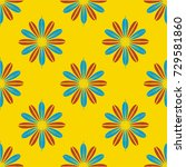 new color seamless pattern with ...   Shutterstock .eps vector #729581860