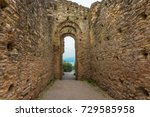 sirmione ruins | Shutterstock . vector #729585958