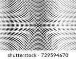 abstract futuristic halftone... | Shutterstock .eps vector #729594670