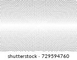 abstract futuristic halftone... | Shutterstock .eps vector #729594760