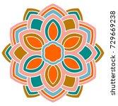 Colorful Ornamental Round...