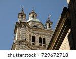 vintage buildings in europe | Shutterstock . vector #729672718