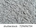 Light Gray Artificial Curly Fu...
