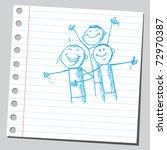 Sketchy Illustration Of A...