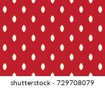 strawberry pattern vector... | Shutterstock .eps vector #729708079