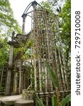 may 18  2014 xilitla  mexico ... | Shutterstock . vector #729710008