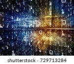 digital city series....   Shutterstock . vector #729713284