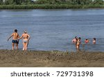 city of tobolsk  tyumen region  ... | Shutterstock . vector #729731398