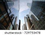 new york skyscrapers | Shutterstock . vector #729753478
