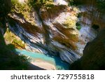 gorge scenery of jhuilu old...   Shutterstock . vector #729755818