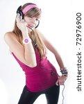 teenage girl   Shutterstock . vector #72976900