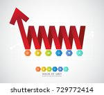 business infographic template.... | Shutterstock .eps vector #729772414
