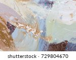 Abstract Painting. Contemporary ...