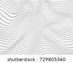 overlay lines.warped lines...   Shutterstock . vector #729805360