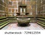 water fountain from mont saint... | Shutterstock . vector #729812554