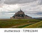 mont saint michel | Shutterstock . vector #729812644