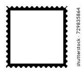 postage stamp vector | Shutterstock .eps vector #729835864