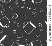 illustration of seamless... | Shutterstock .eps vector #729851143
