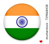 flag of india in the form of a... | Shutterstock .eps vector #729868438