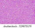 pink glitter texture background  | Shutterstock . vector #729875179