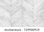 Stock photo natural gray wooden parquet herringbone wood texture 729900919