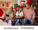 family  holidays  generation ...   Shutterstock . vector #729906943