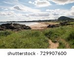 the coast of east lothian ... | Shutterstock . vector #729907600