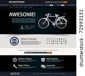 web design website elements... | Shutterstock .eps vector #72993151