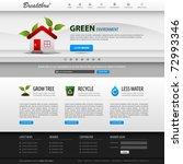 web design website elements... | Shutterstock .eps vector #72993346