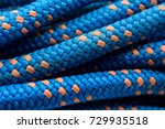 abseil rope background showing... | Shutterstock . vector #729935518