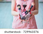 beauty products nail care tools ... | Shutterstock . vector #729963376