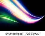 vector illustration of neon... | Shutterstock .eps vector #72996937
