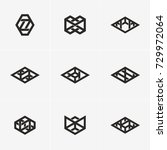 modern abstract design vector... | Shutterstock .eps vector #729972064