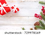 christmas background  ...   Shutterstock . vector #729978169