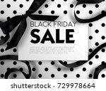 black friday sale discount... | Shutterstock .eps vector #729978664