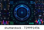 hud futuristic element user... | Shutterstock .eps vector #729991456