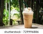 coffee blend in plastic cup....   Shutterstock . vector #729996886