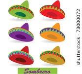 sombrero | Shutterstock .eps vector #73000072