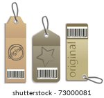 price tags | Shutterstock .eps vector #73000081