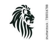 vector lion head image.... | Shutterstock .eps vector #730016788