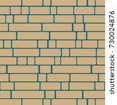seamless texture of a brick... | Shutterstock .eps vector #730024876