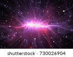 time warp  traveling in space....   Shutterstock . vector #730026904