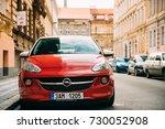 prague  czech republic  ... | Shutterstock . vector #730052908
