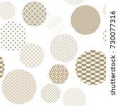 gold geometric pattern seamless ... | Shutterstock .eps vector #730077316
