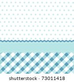 Stock vector seamless baby blue pattern wallpaper 73011418