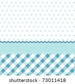 Stock vector seamless baby blue pattern wallpaper 73011418
