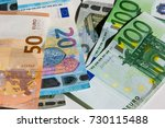 banknote of hundred  fifty ...   Shutterstock . vector #730115488